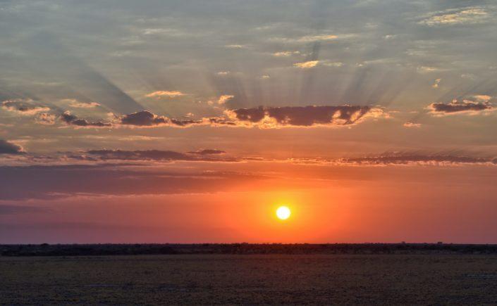 CKGR Sonnenaufgang über dem Deception Valley
