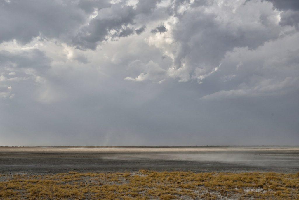 Sandsturm auf Kubu Island
