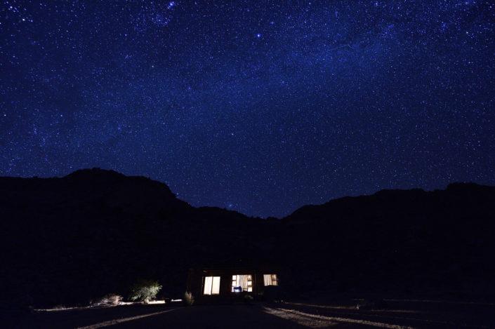 Sternenhimmel über Klein Aus Vista, Eagles View Chalet