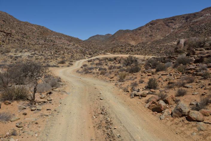 Strasse über den Akkedis Pass im Richtersveld