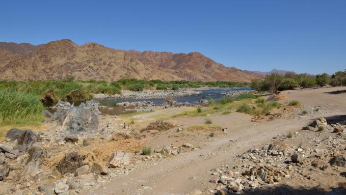 De Hoop Campsite am Oranje River