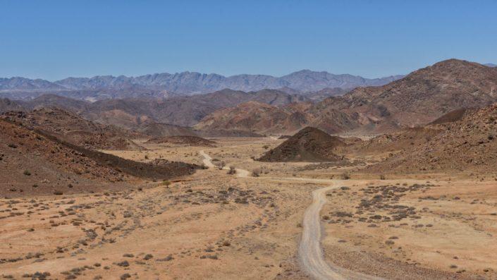 Strasse im Richtersveld über den Marpoort Pass