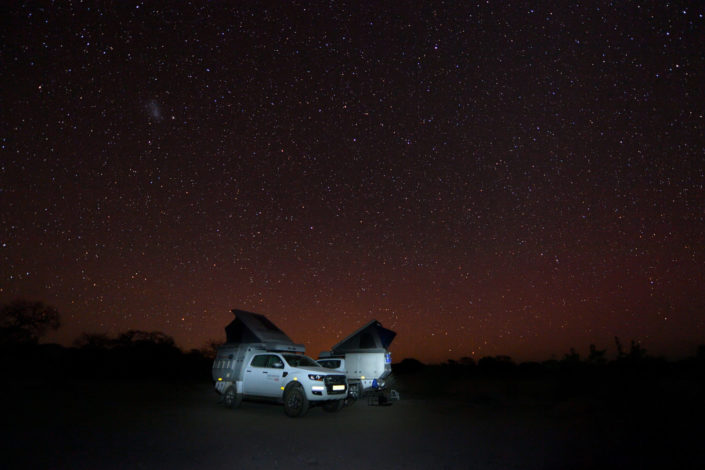 Camp unter den Sternen