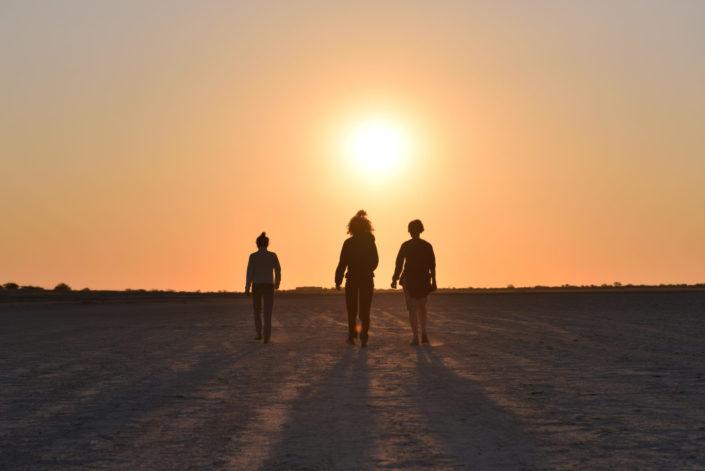 Marsch in die Sonne