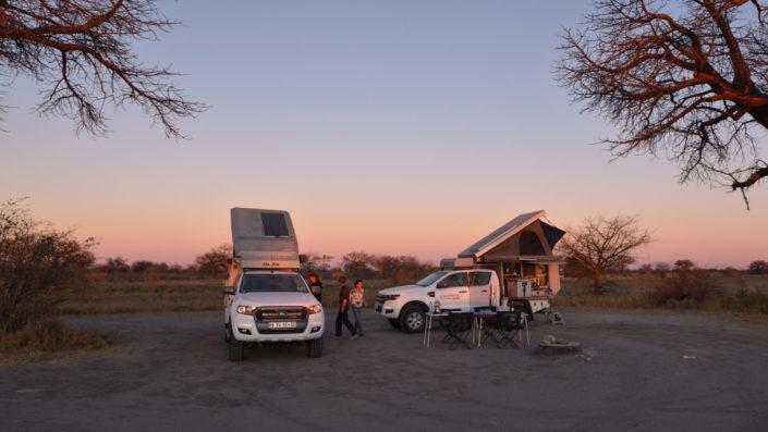 Camp zwischen den Baobabs