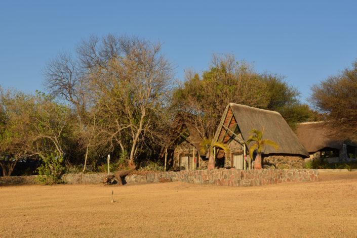 Chalets der Thamalakane River Lodge