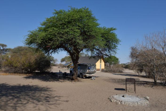 Khumaga Campsite am Boteti River