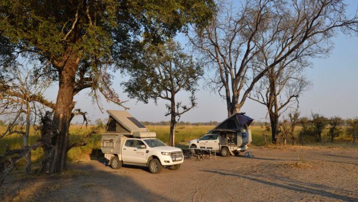 Xakanaxa Campsite Nr. 1 im Moremi Game Reserve