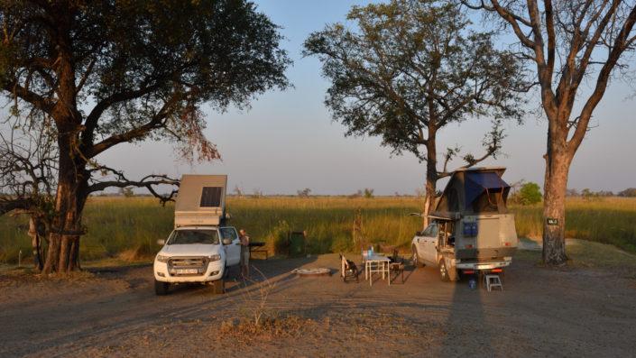 Campsite XA 1 in Xakanaxa