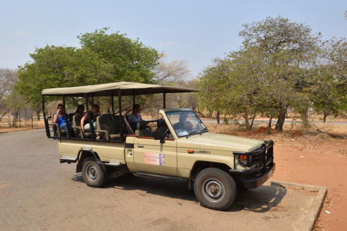 Kalahari Tours Land Cruiser