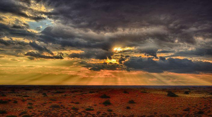 Sonnenuntergang im Kieliekrankie